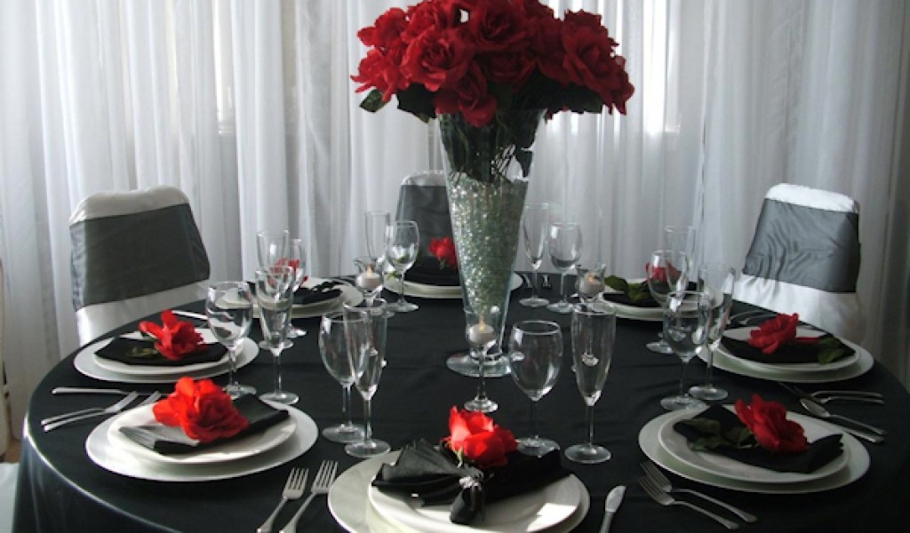 black table decorations for weddings. Black Bedroom Furniture Sets. Home Design Ideas