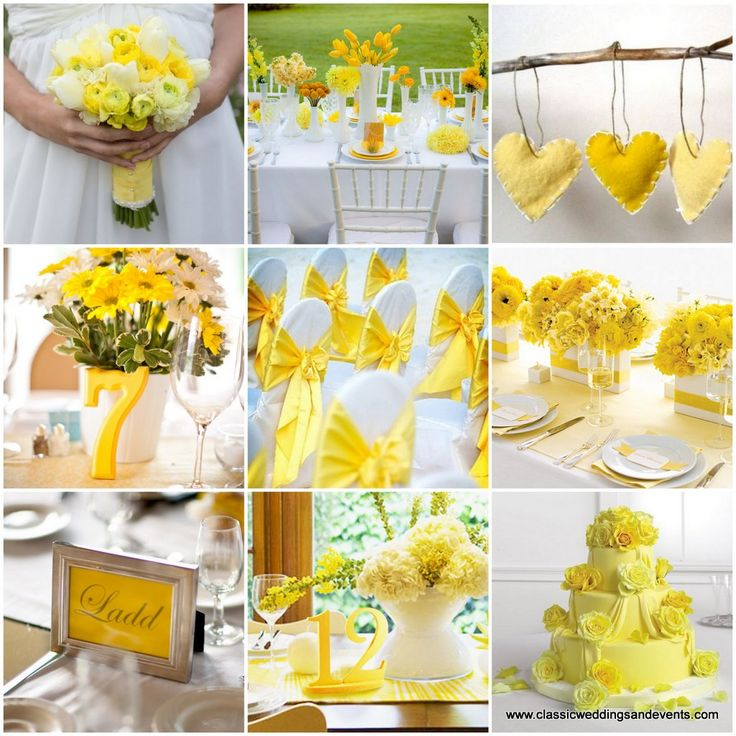 Wedding Decoration Ideas Making The Great Decision Of Yellow Shades On Emasscraft Org