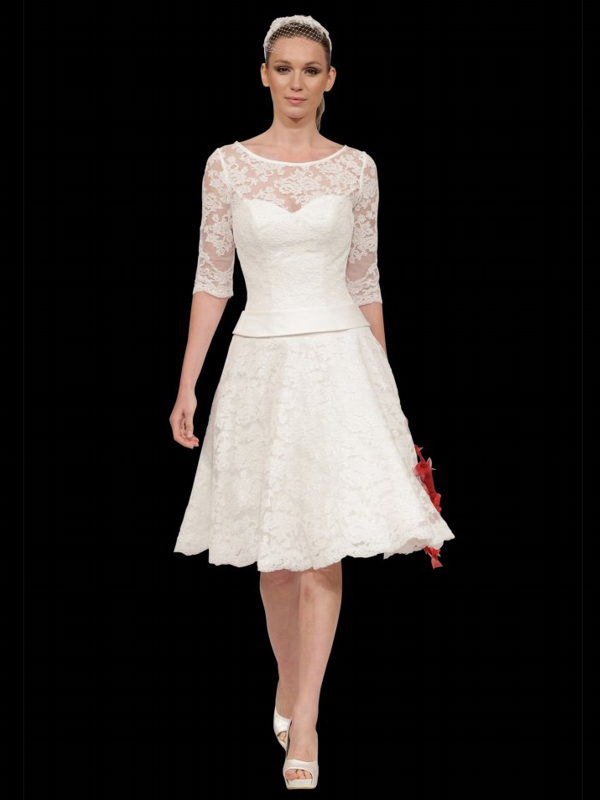 Informal Wedding Dresses For Older Brides: Wedding Dress Mature Bride