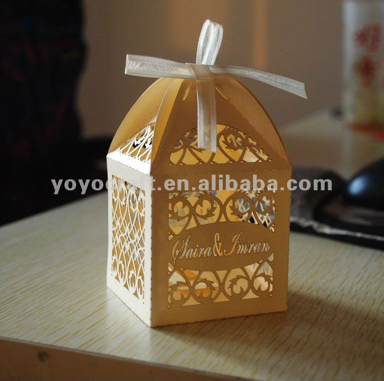 Gift Box Wedding Invitations