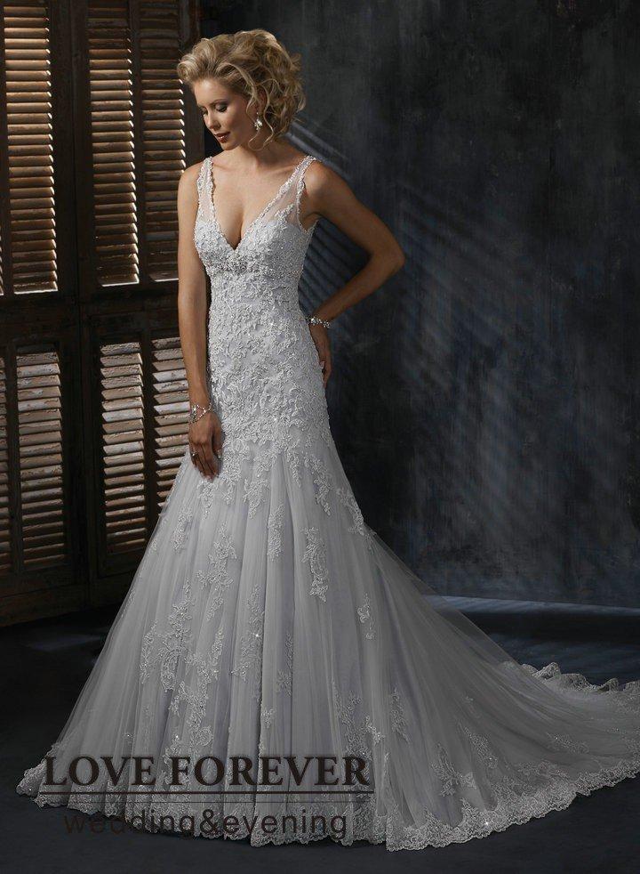 Silver wedding gowns silver wedding dress photos junglespirit Gallery