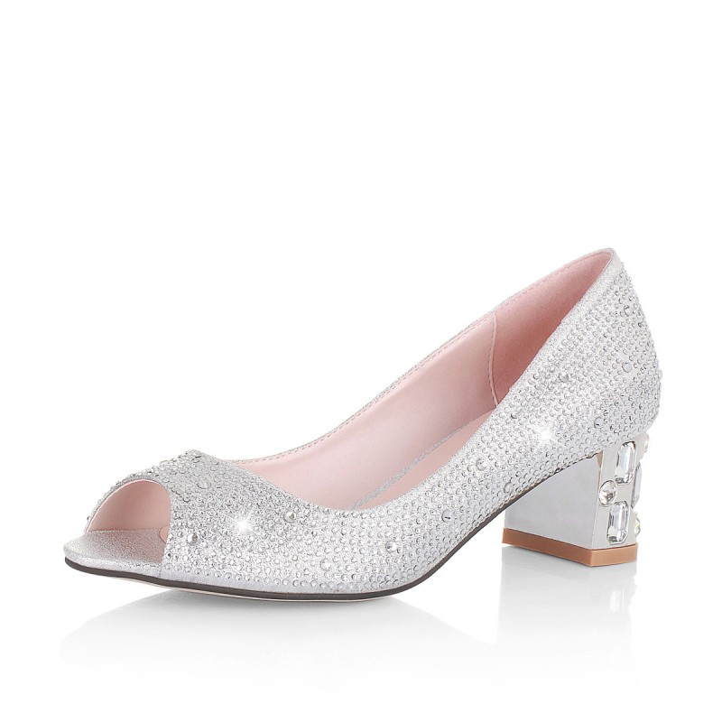 Silver Shoes For Wedding