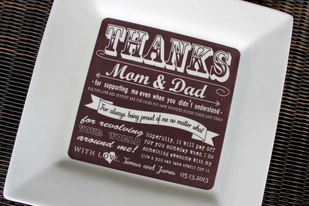 Parents Gift Wedding: Wedding Thank You Gift Ideas For Parents