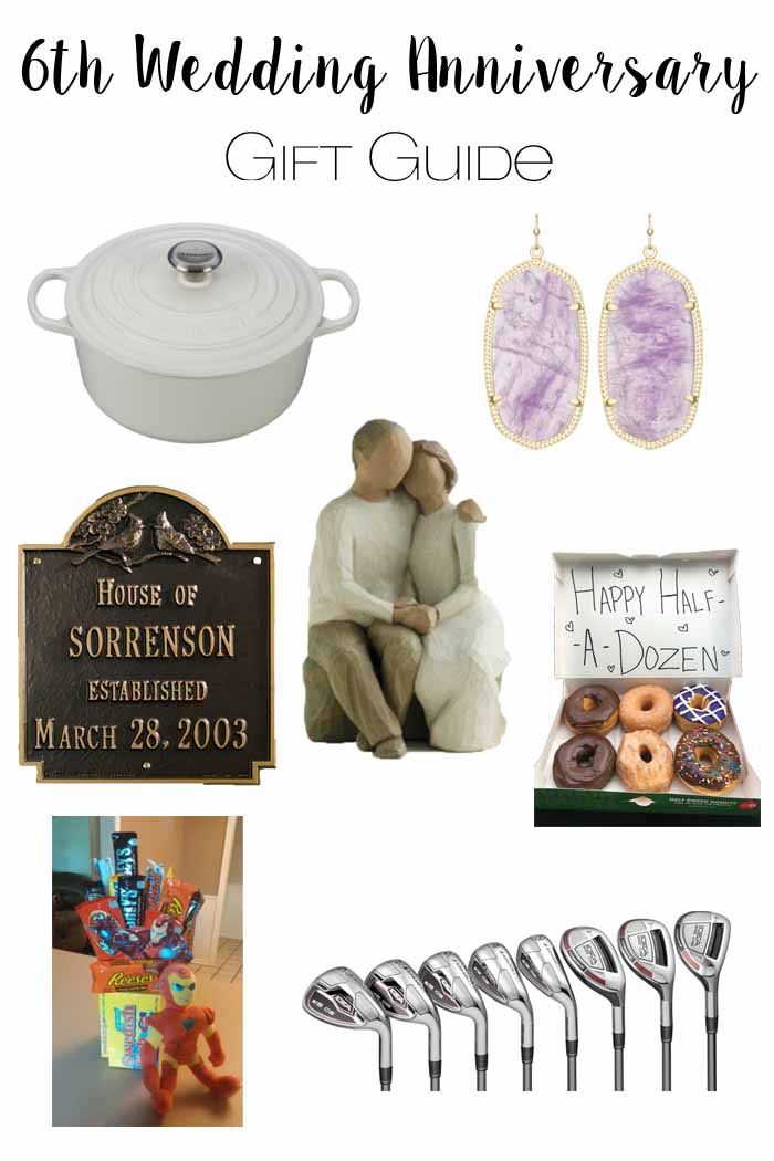 The Adventure Starts Here 6th Wedding Anniversary Gift Guide