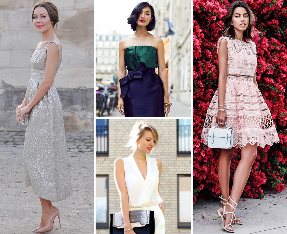 Classic Dresses For A Wedding Guest: The Wedding Guest Dress Code, Bohemian, Classic