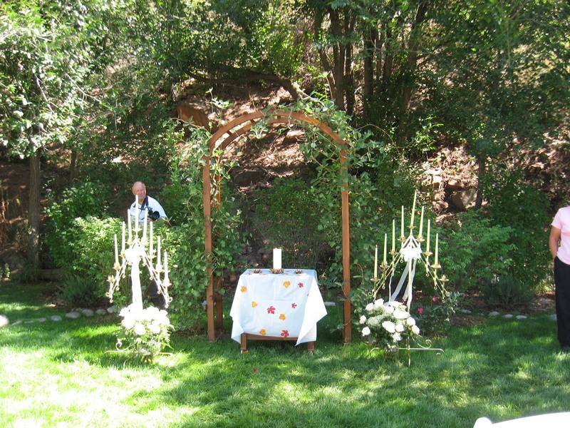 Outdoor Wedding Unity Ideas