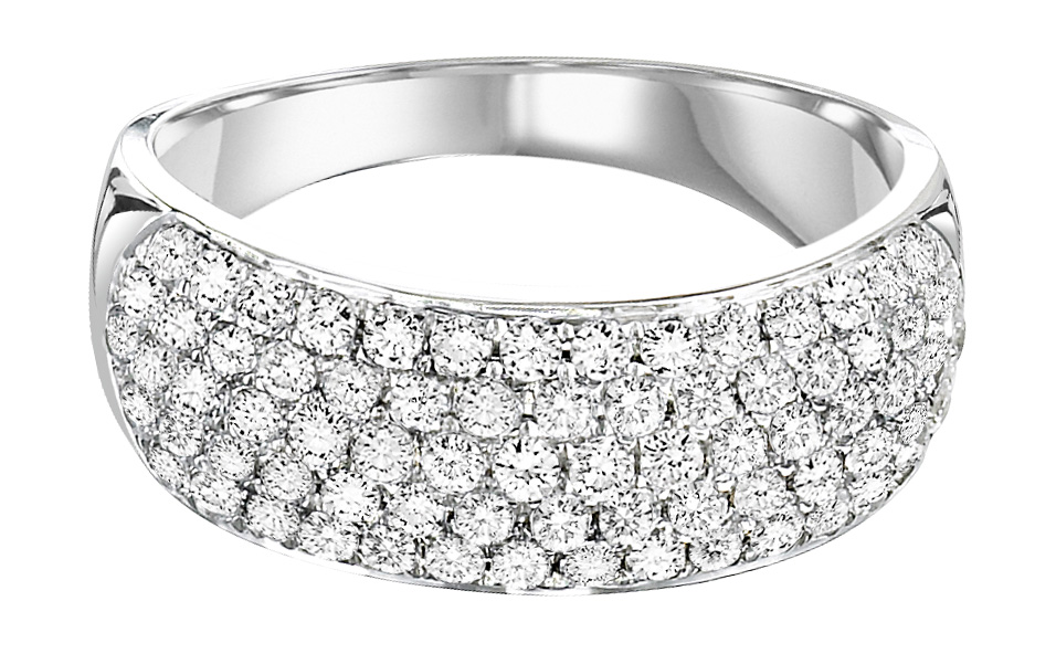 rhodium bands micro plated ring wide jewelry silver eternity band com white cz diamond dp pave amazon