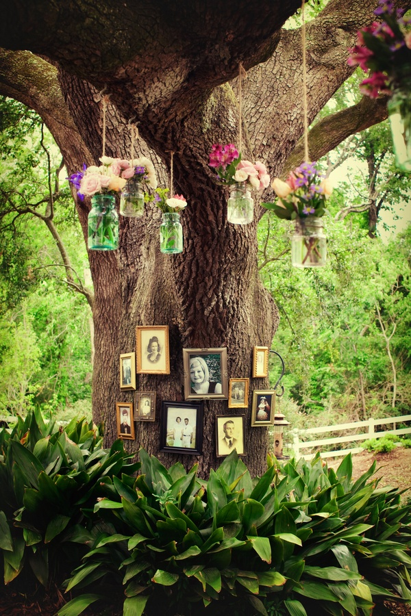 Outdoor Tree Decorations For Weddings