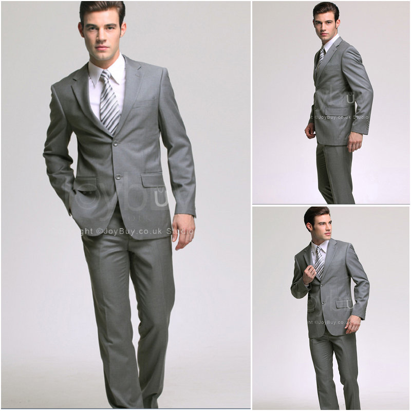 Grey Suit For Wedding