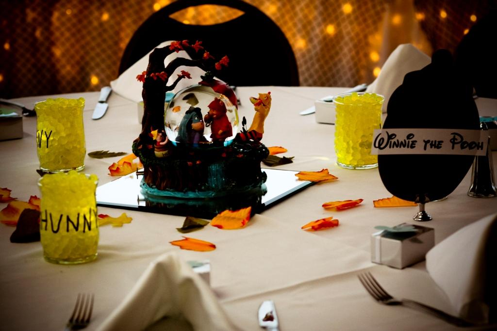 Winnie The Pooh Themed Wedding