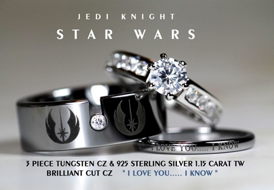 Marvel Wedding Rings