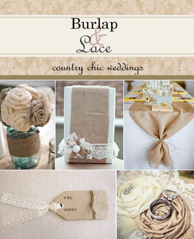 Rustic Wedding Ideas Using Burlap: Wedding Ideas Using Burlap