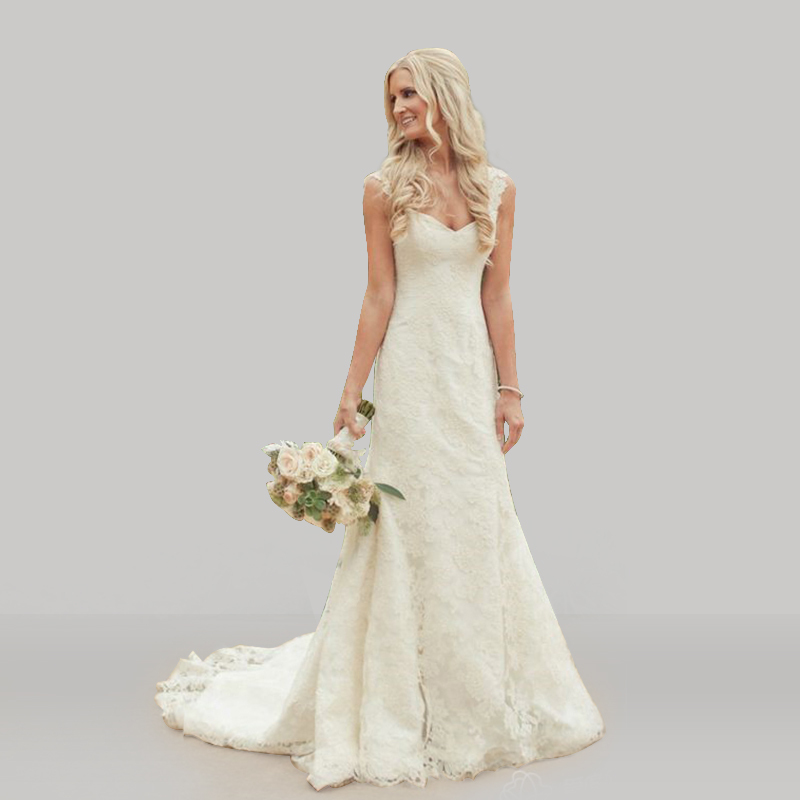 Vintage Lace Country Style Wedding Dresses