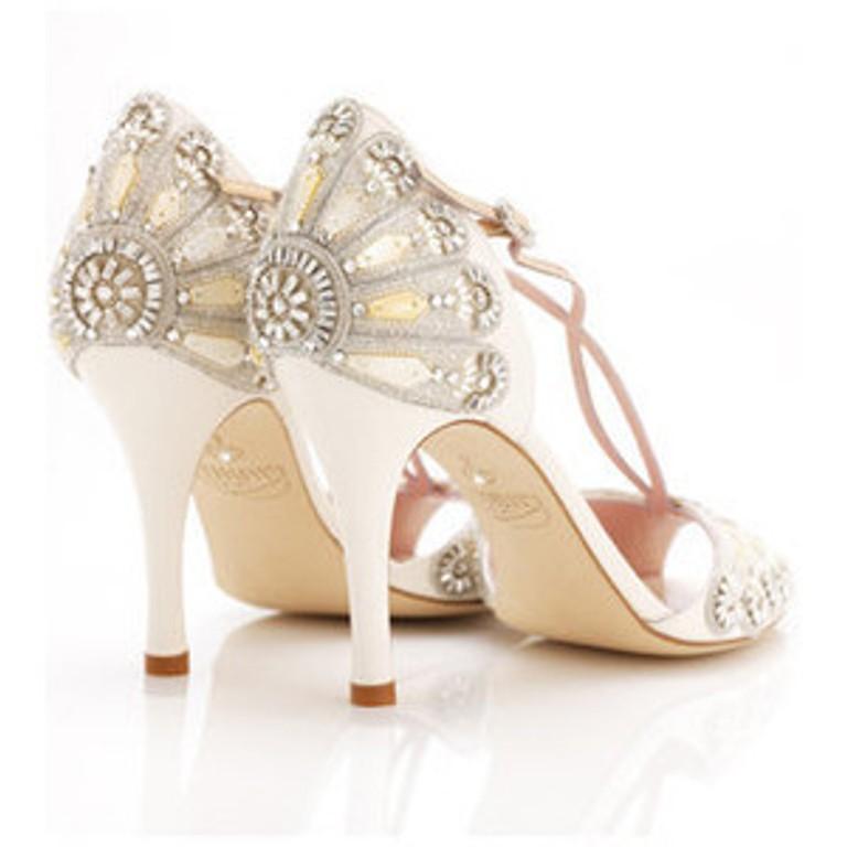 Vintage Style Wedding Shoes Wedding Ideas Emasscraft Org Alluring ...