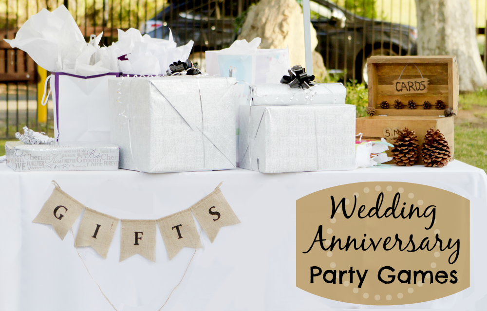 wedding anniversary party games ideas