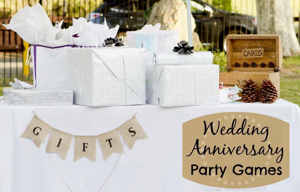 Wedding Anniversary Gifts Games Ideas