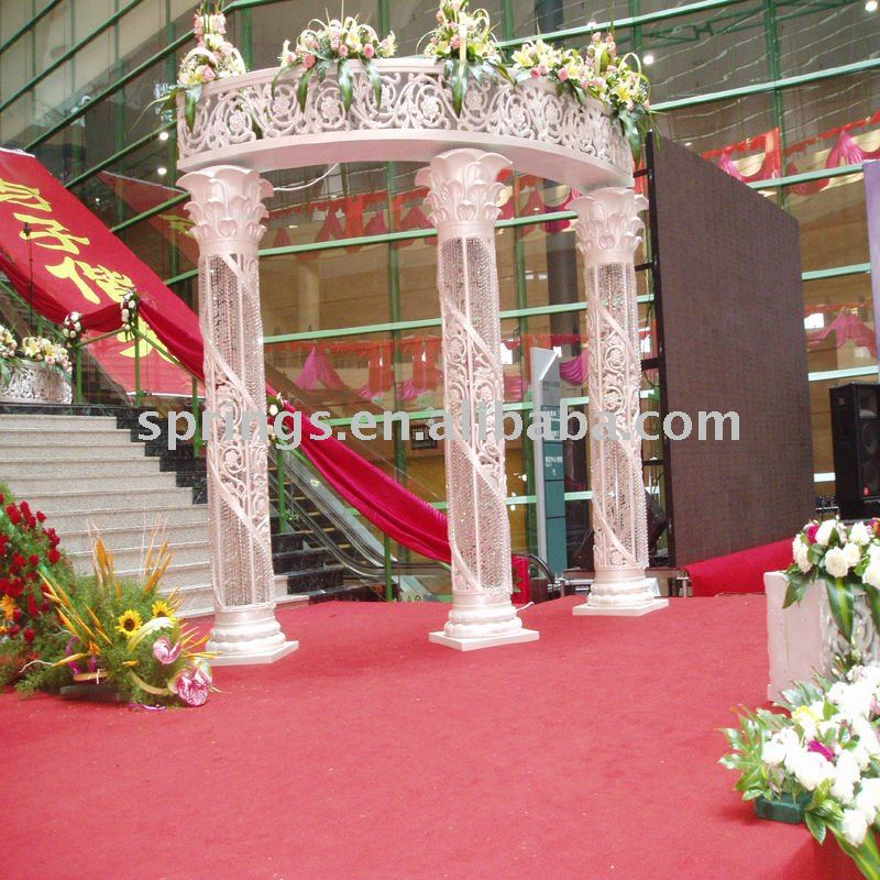 columns for wedding decorations wedding decorations with columns 3015