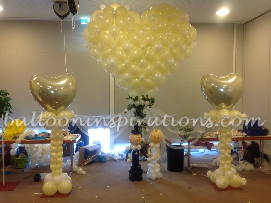 Stunning balloon decorations for weddings pictures styles ideas wedding venue balloon decoration balloons for weddings worldwide junglespirit Images