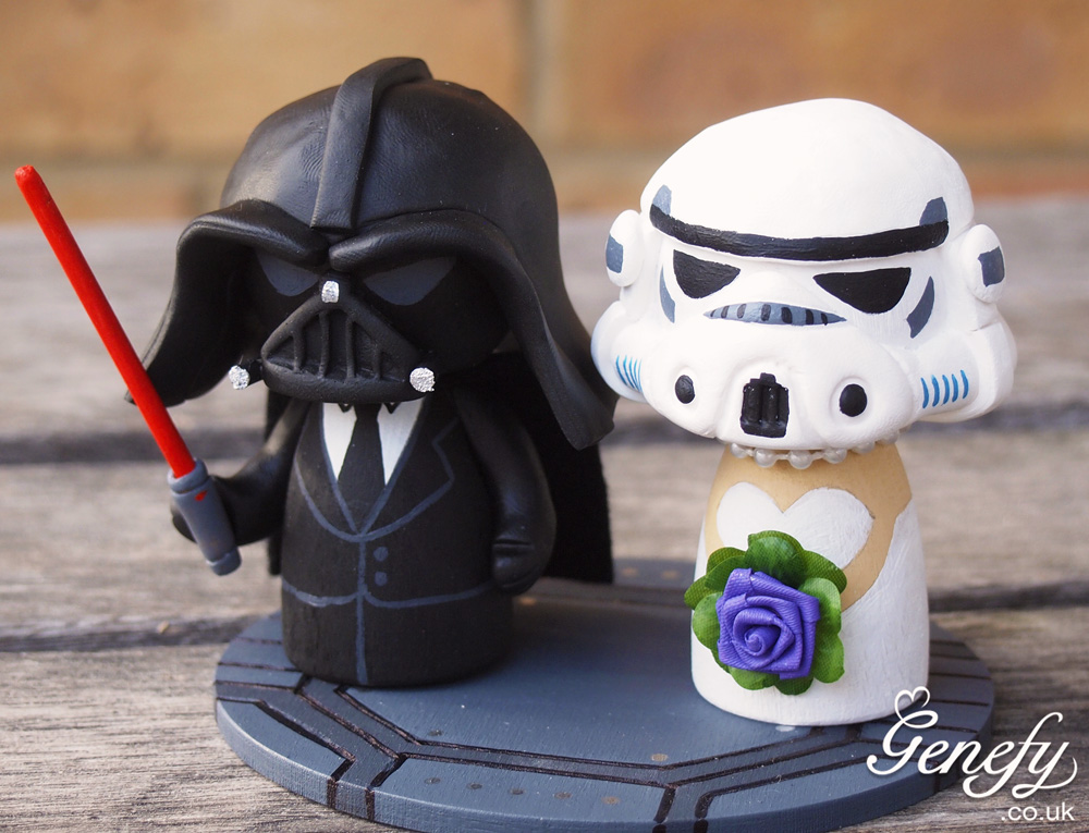 Star wars wedding cake toppers wedding cake toppers lego cake and lego on emasscraft org junglespirit Gallery