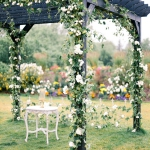Decorated Wedding Arbors