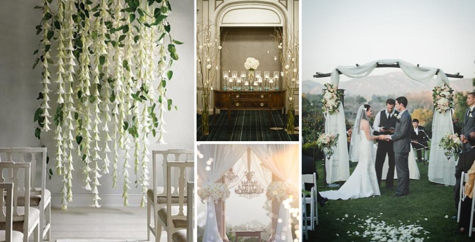 Backdrop For Wedding Ceremony
