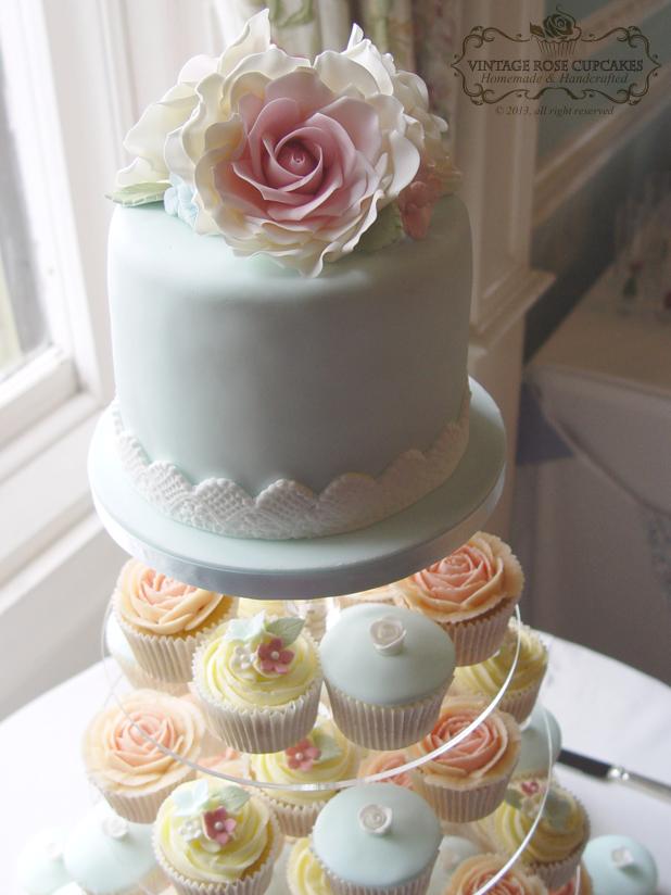 Cupcake Towers For Weddings