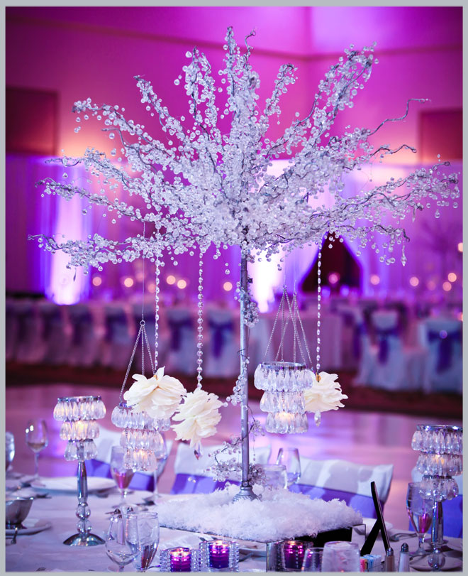 Purple Weddings Ideas: White Purple Wedding Theme