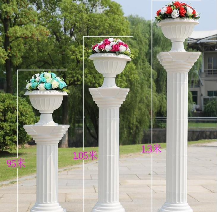 White Columns For Wedding Decorations Choice Image Wedding