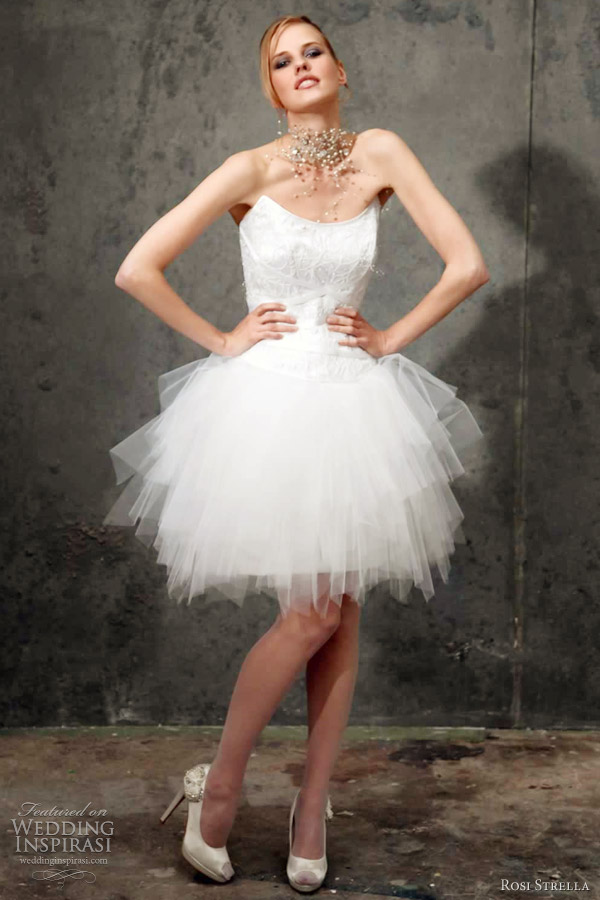 Tutu Wedding Dress