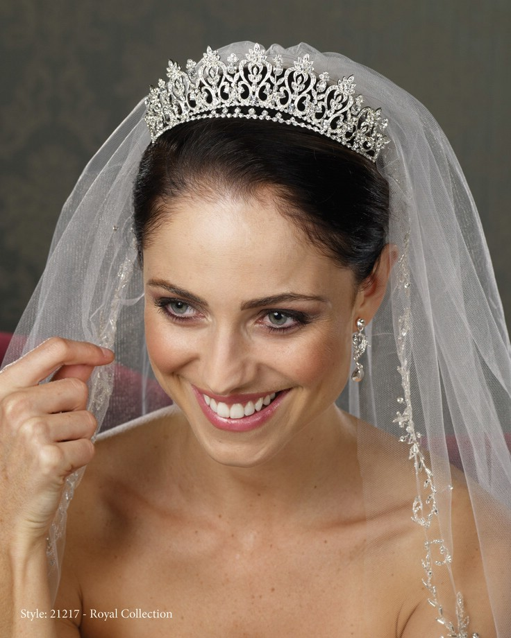 Wedding Tiara With Veil