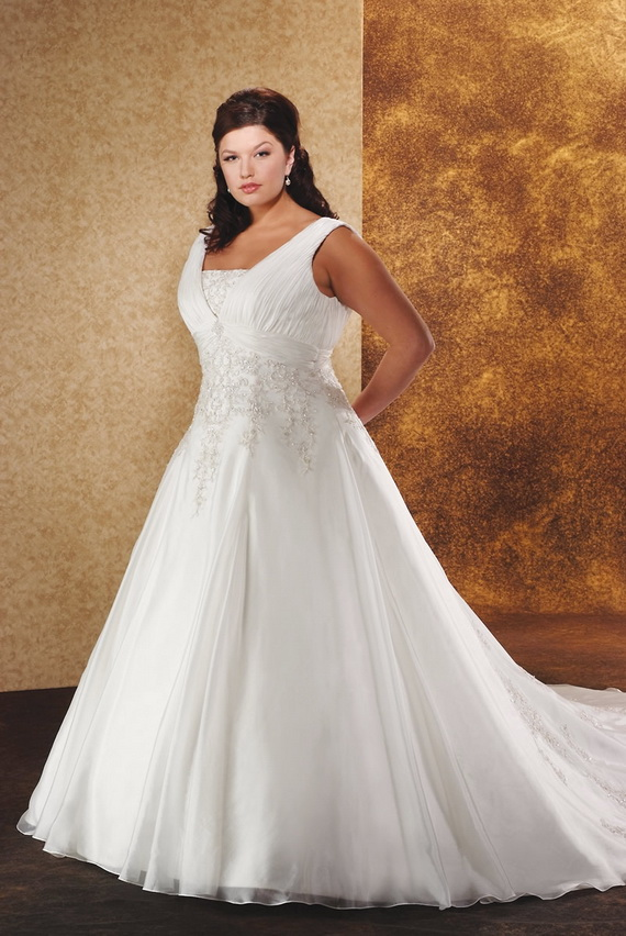 Fat woman wedding dress for Women s dresses for weddings