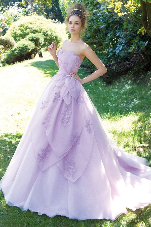 Light purple wedding dress for Light purple wedding dress