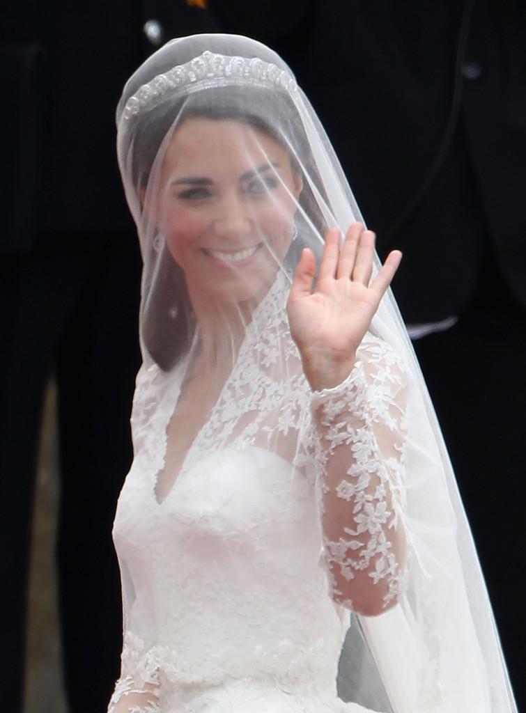 Wedding Tiara With Veil