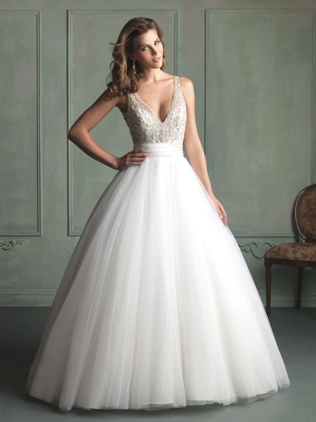 Wedding gowns with straps wedding dresses with straps give a vintage and classy look to the junglespirit Gallery
