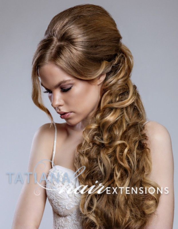 Wedding hairstyles with clip in hair extensions wedding hairstyles with extensions pmusecretfo Choice Image