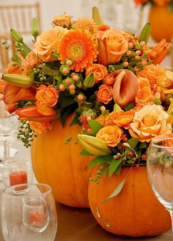 Fall Decorations For Wedding