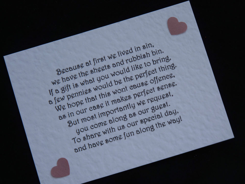 Wedding Invitation Wording For Monetary Gifts: Money Gift Wedding Poem