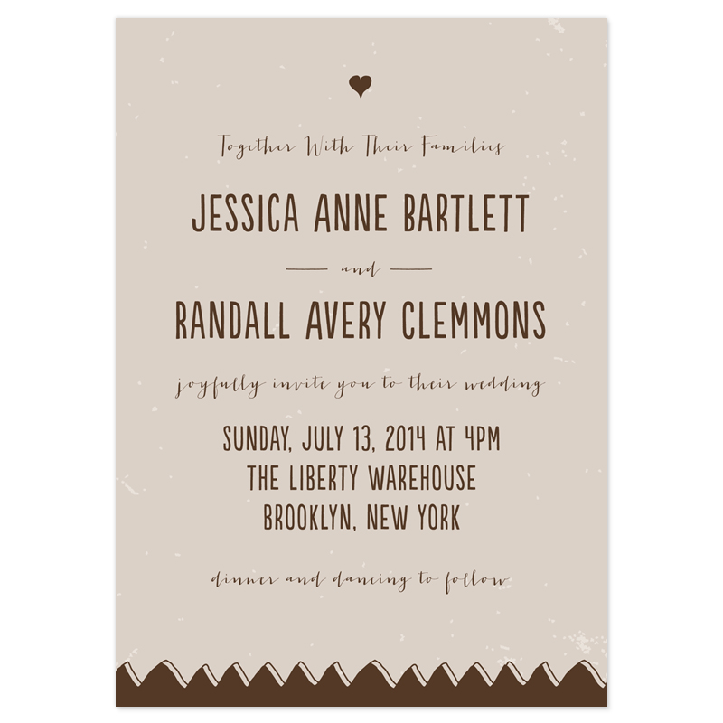 Casual wedding invitation wording stopboris Choice Image