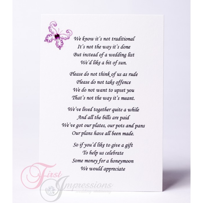 Wedding Poems For Gifts Gallery Wedding Decoration Ideas