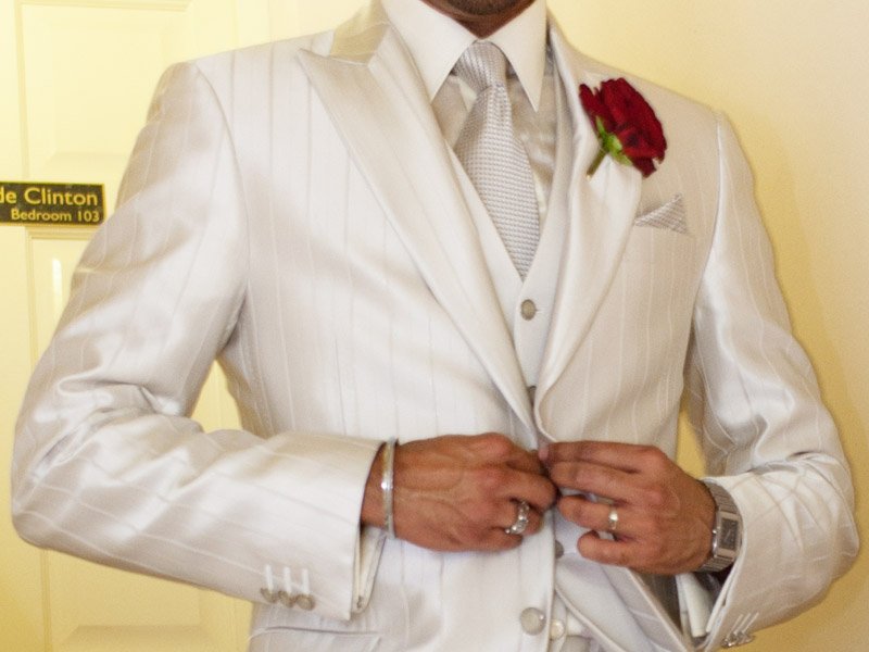 Fantastic Groom In White Suit Ornament - Wedding Ideas - nilrebo.info