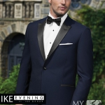 Navy Wedding Tux