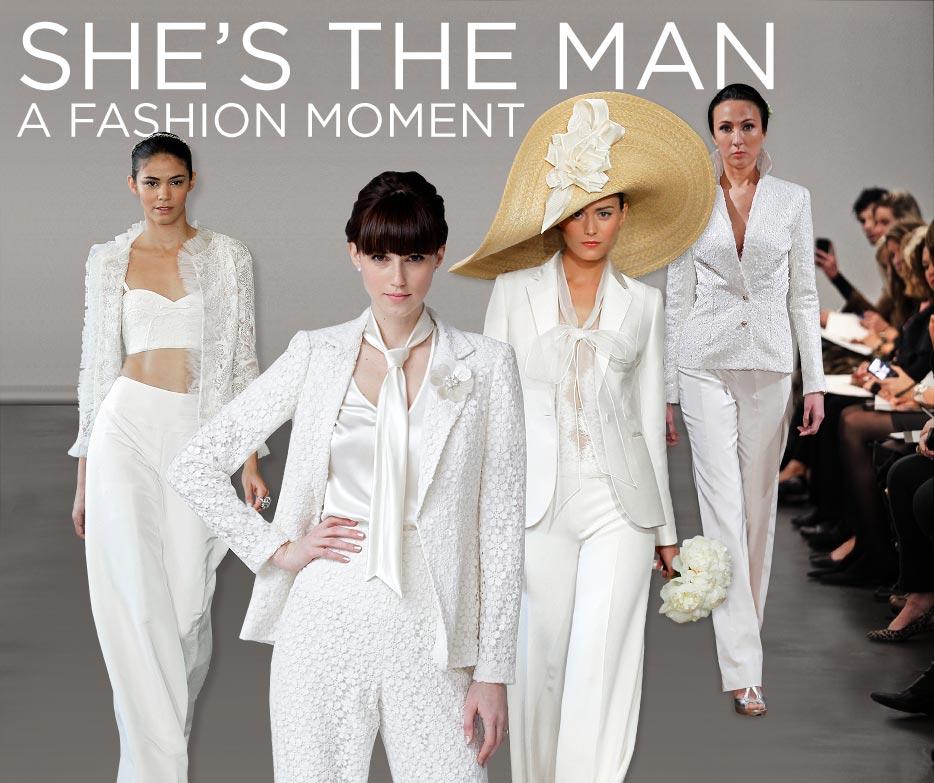 Best Wedding Tuxedos For Women Gallery - Styles & Ideas 2018 ...