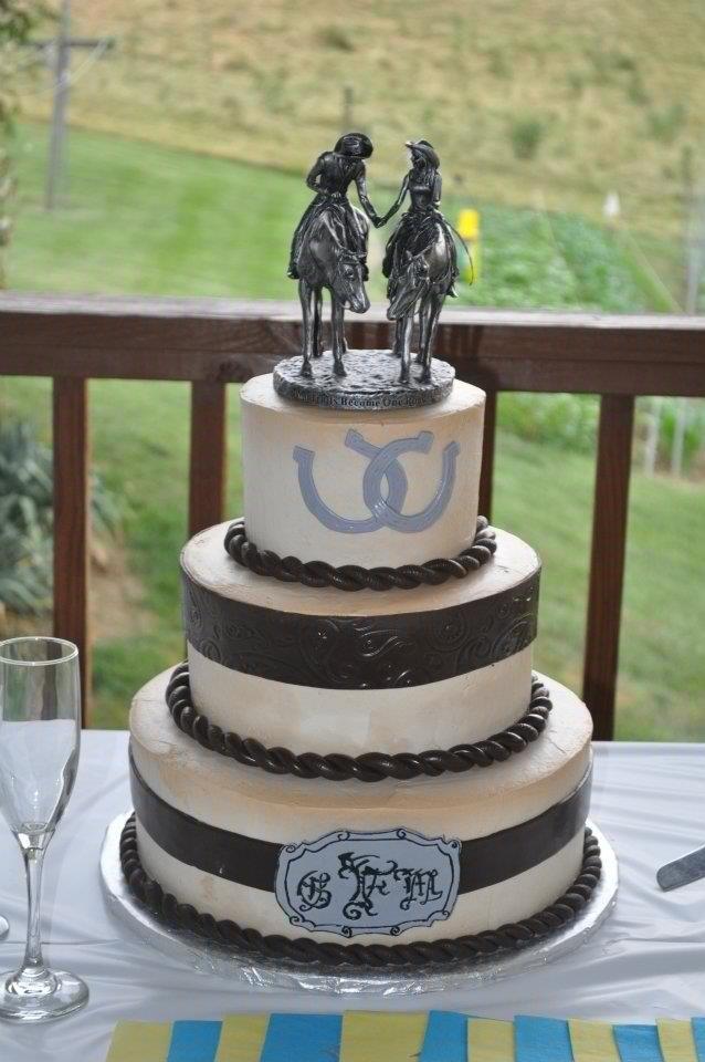 Western Theme Weddings And Wedding Cakes On Emasscraft Org
