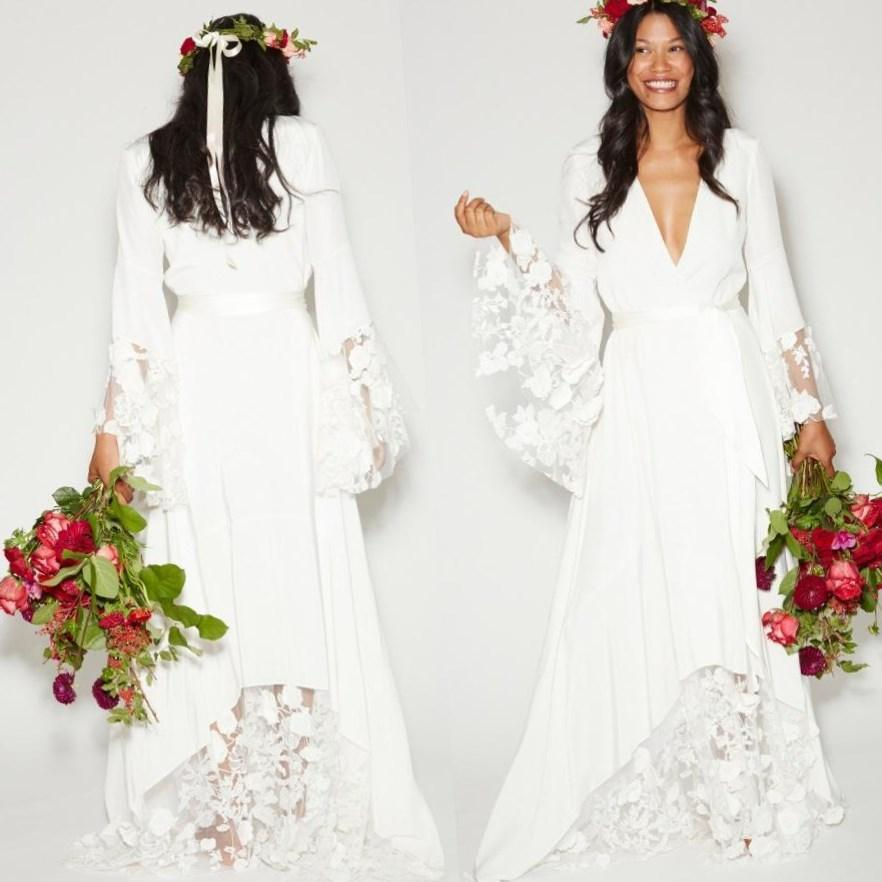 Western Wedding Dresses Plus Size Emasscraft