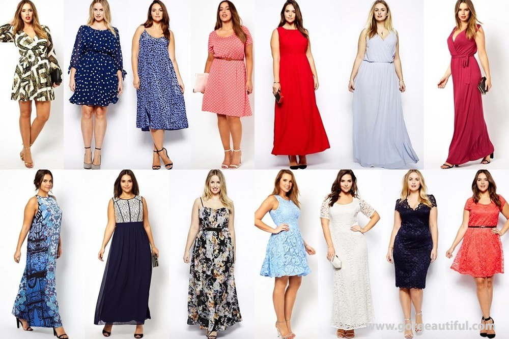 What To Wear A Wedding Spring Summer 2017 Plus Size