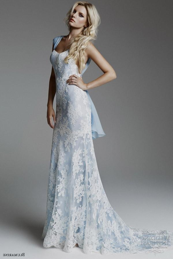 pale blue wedding dress white and blue wedding dress 6358