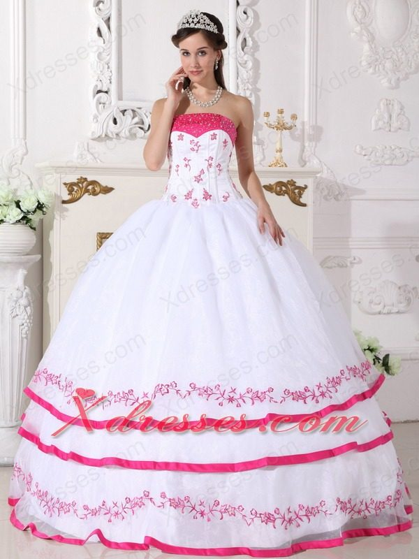 Pink Wedding Dresses. Images About Weddings On Pinterest Girls ...