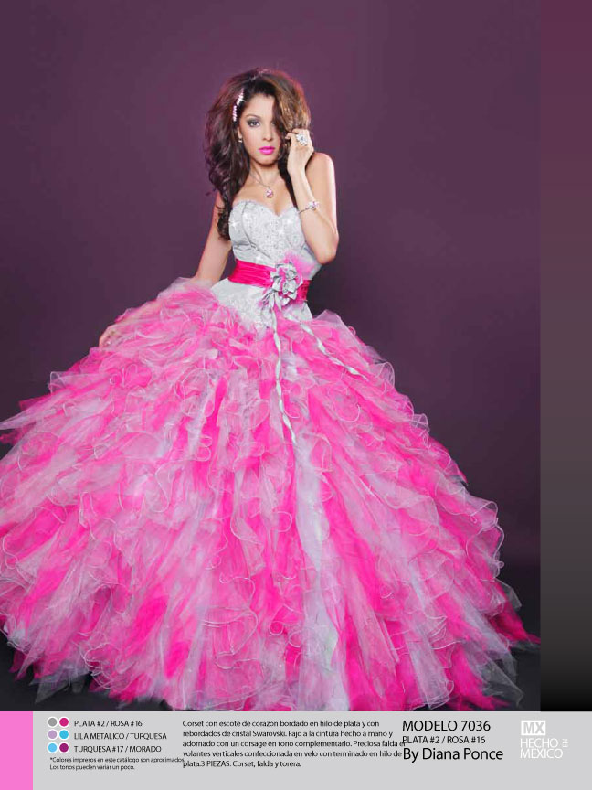 Hot Pink Wedding Photos : White and hot pink wedding dresses browse pictures high