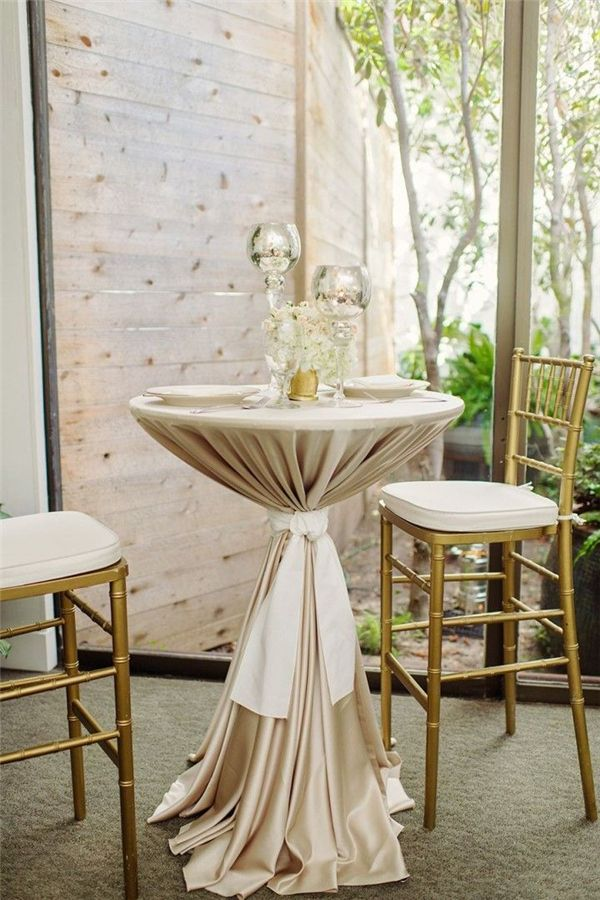 Champagne Wedding Decorations