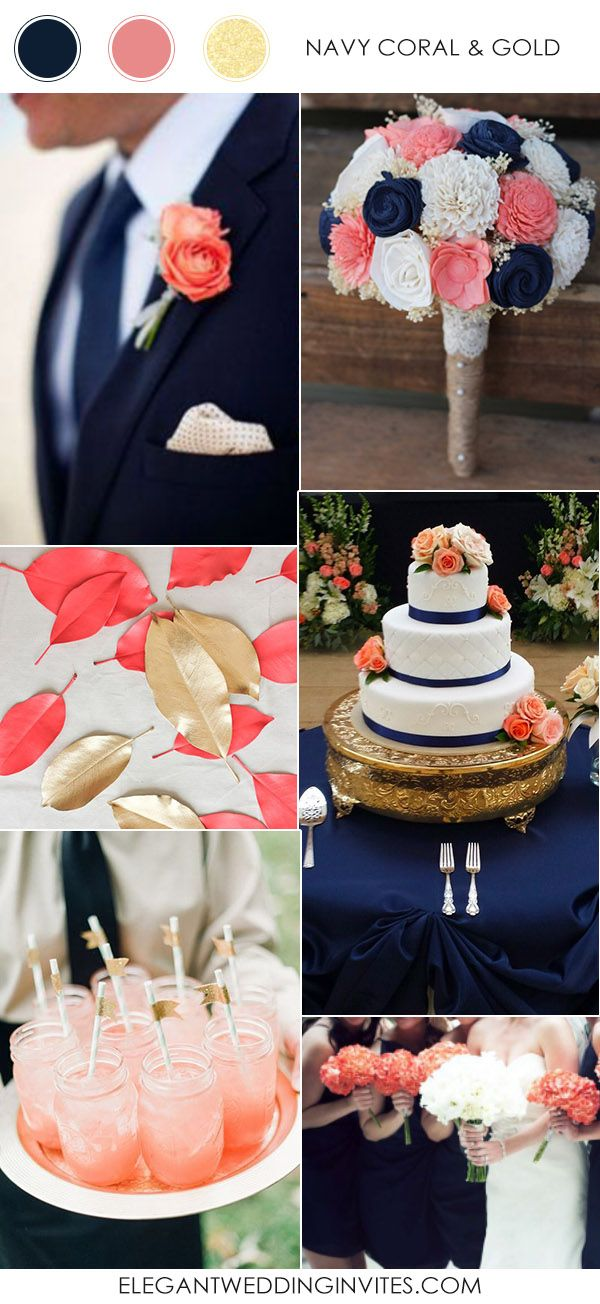 navy blue and coral wedding decorations navy blue and coral wedding decorations 6114